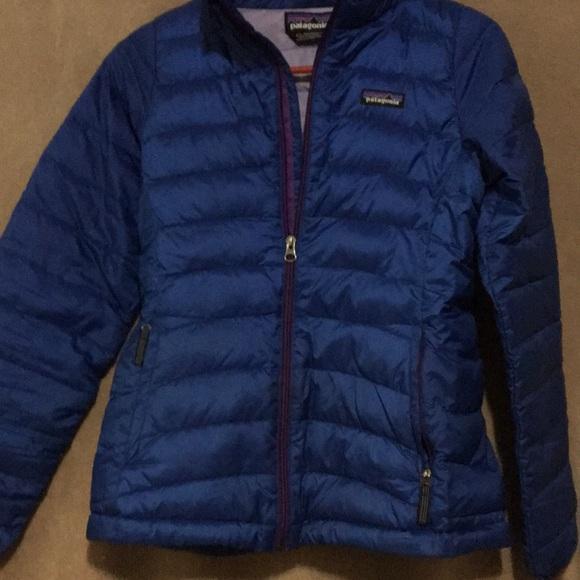 db0fef7fdf12 Girls Patagonia down sweater jacket. M 5abb6b4d84b5ce8dd21a32c0